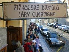 Divadlo Járy Cimrmana. Ilustrační foto.