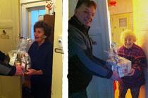 Pejskaři seniorům rozdávají balíčky s kvalitními potravinami