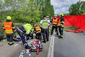 Tragická dopravní nehoda na Strakonické.