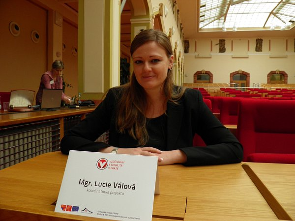 Koordinátorka programu Lucie Válová