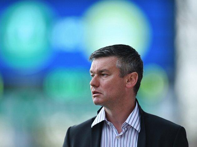 Trenér David Vavruška.