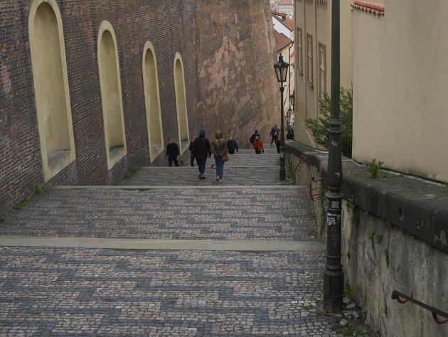 Oblíbená místa Michala Ambrože, zámecké schody č.6     7.4.2017