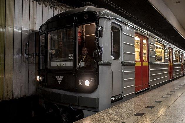 Výročí linky A pražského metra.