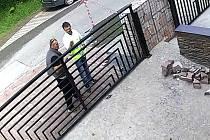 Pražská policie pátrá po zlodějích laseru.
