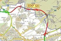 Pražský okruh v úseku Březiněves – Satalice bude pravděpodobně pod povrchem.