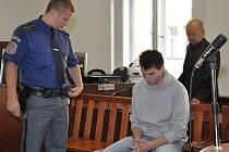 Výjimečný trest v trvání 26 let uložil v pátek Městský soud v Praze 22letému Martinu Kralovi z Kolína za vraždu svého dědečka