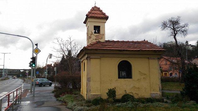 Kaplička sv. barotoloměje v Hodkovičkách.
