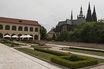Terasy Jízdárny Pražského hradu