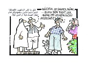 Výstava kresleného humoru na téma sucho - Miloslav Martenek