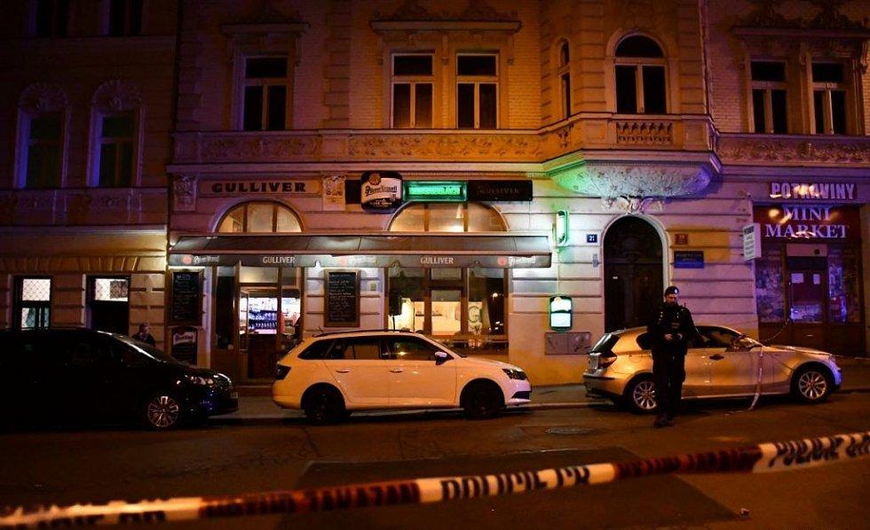 V pátek večer se v Praze střílelo i ve Vršovicích.