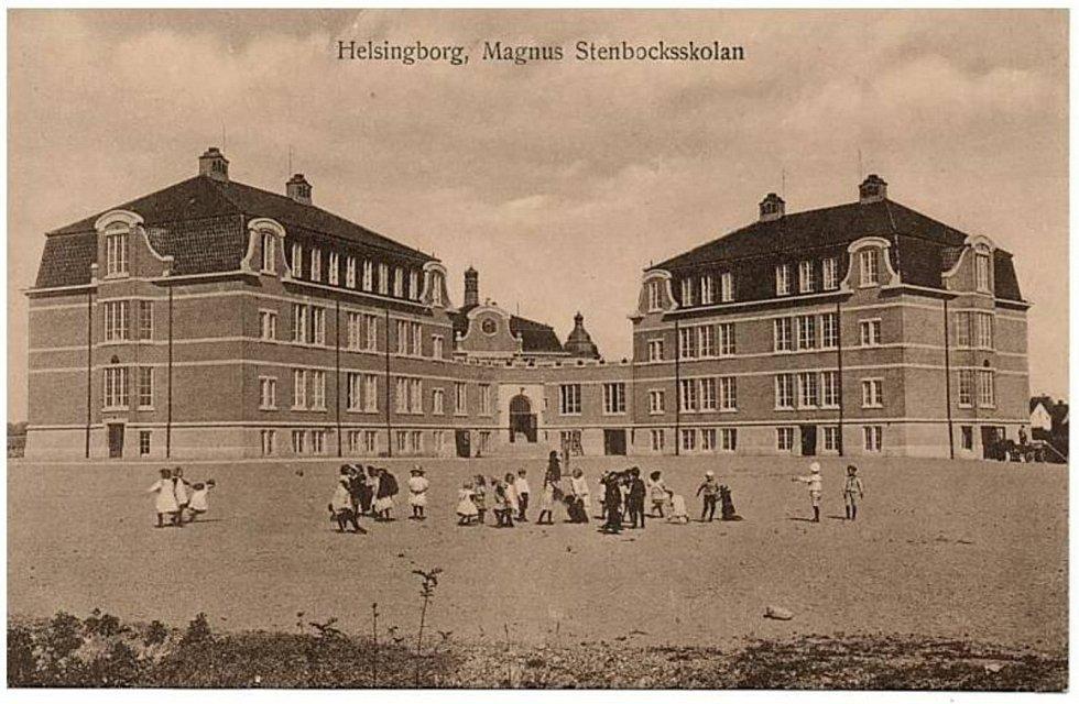 Helsingborg, Švédsko, kde trávila karanténu.