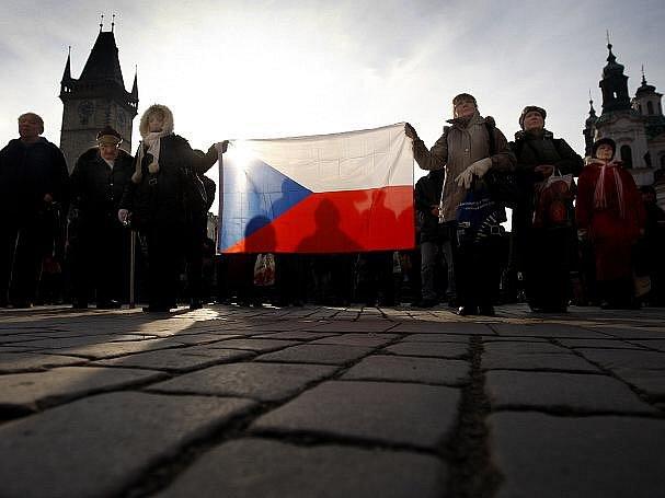 Zahájení pátého ročníku kulturního mezioborového festivalu Mene Tekel proběhlo 21. února na pražském Staroměstském náměstí.