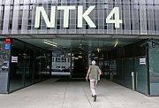 Národní technická knihovna. (Snímek ze dne 29. dubna 2009)