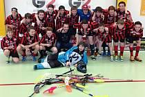 Mistrovství regionálních florbalových výběrů mladších žactva vyhráli hráči metropole.