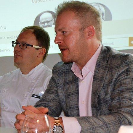 Marek Raditsch, jeden zporotců televizní soutěže MasterChef, bude na festivalu vařit.