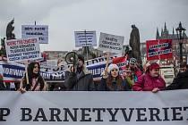 Před norským velvyslanectvím v Praze se 16. ledna konal protest proti postupu norské sociální služby Barnevernet. Kritici jí vytýkají odebírání dětí z rodin cizinců v Norsku. Akce je součástí řetězu demonstrací v různých zemích.