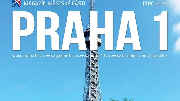 Část titulní strany prvního čísla modifikovaného radničního časopisu Prahy 1, který nově vychází - proti původní měsíční periodicitě - jen čtyřikrát ročně.