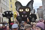 V úterý 25. února se konal v Praze 3 průvod v rámci akce Žižkovský masopust 2020.