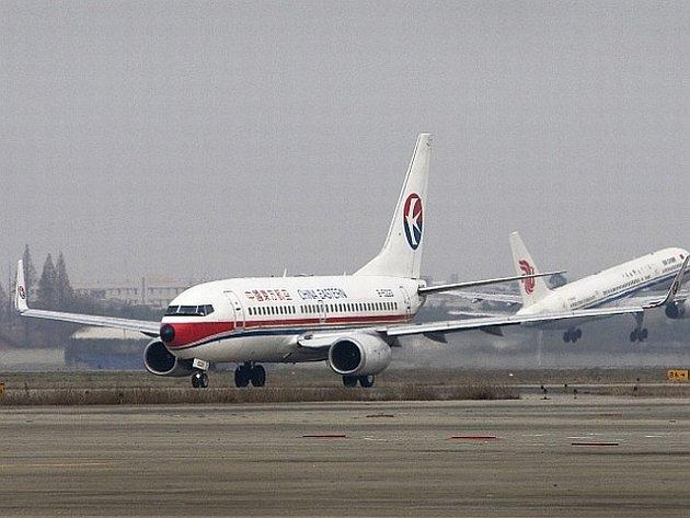 Čínské aerolinky China Eastern Airlines.