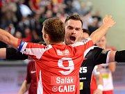 Radost. Futsalisté Slavie prožívají skvostné play-off.