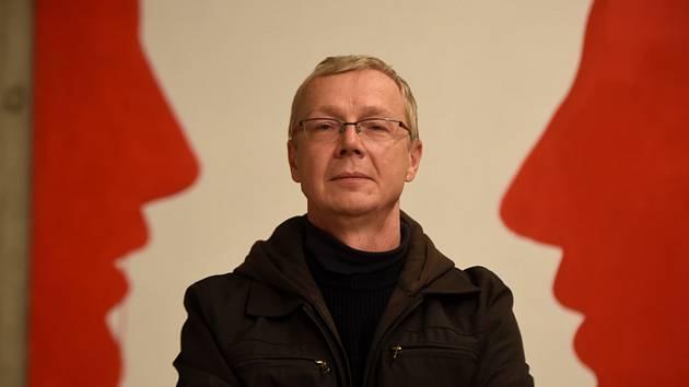 Ředitel galerie moderního umění Plato Ostrava Marek Pokorný.