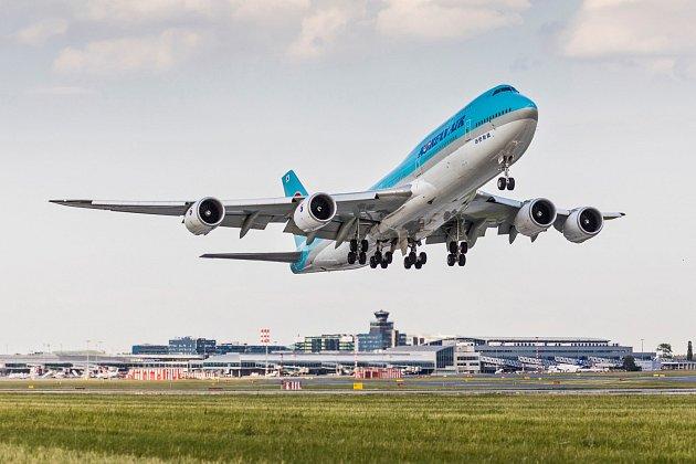Vzlet z Letiště Václava Havla
