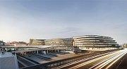 Vizualizace: Masarykovo nádraží v Praze se radikálně změní. Už za tři roky tu vyroste nové byznys centrum.