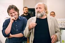 František Dryje (vpravo)