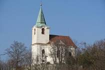 Kostel svatého Matěje.