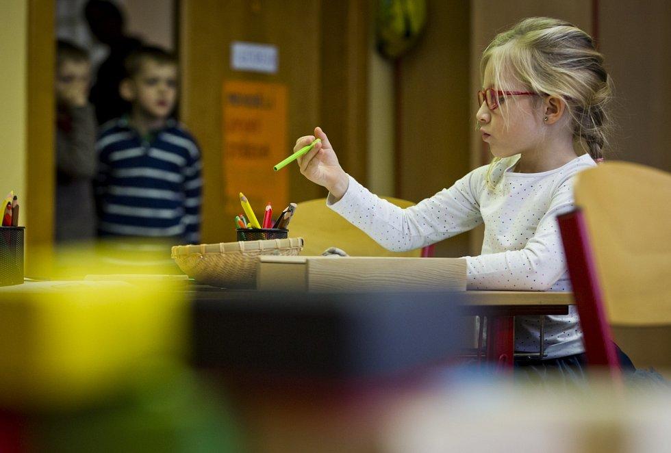 Zápisy do prvních tříd. Ilustrační foto.