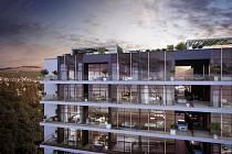 Projekt Vanguard v Praze počítá s garážemi a autovýtahem hned u bytu.