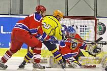Hokejisté pražské Kobry utekli baráži o záchranu druhé ligy jen o fous.