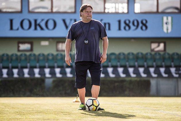 Martin Frýdek, trenér Loko Vltavín.