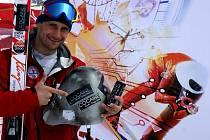 Radek Čermák, rekordman v rychlostním lyžování.