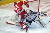 2. semifinálové utkání O2 ELH Play Off mezi týmy HC Slavia Praha vs. HC Lasselsberger Plzeň.