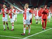 Hráči Slavia Praha