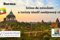 Vydejte se s cestovateli Matějem a Adrianou poznávat krásy Barmy.