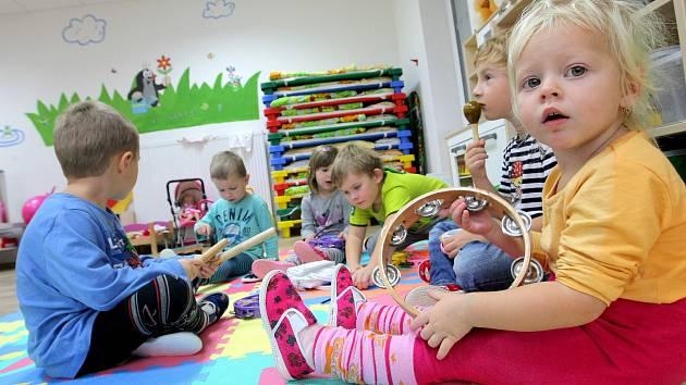 Dětská skupina. Ilustrační foto.