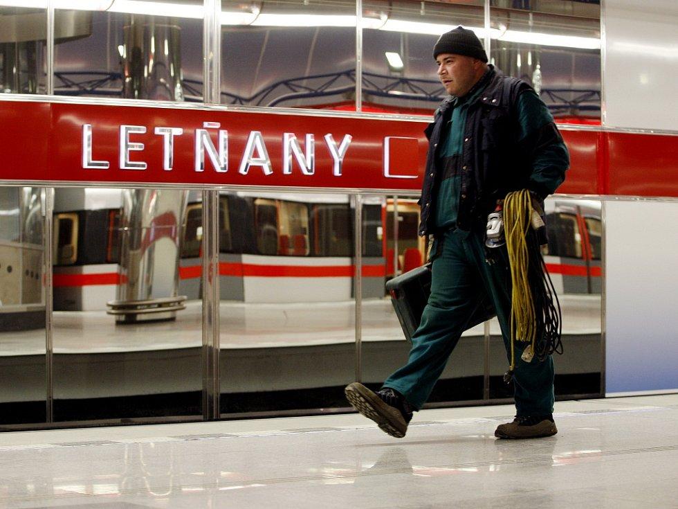 Metro Letňany. Ilustrační foto.