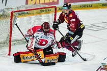 Sparťané doma padli s Pardubicemi 1:2 po nájezdech.