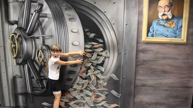 Muzeum fantastických iluzí je otevřeno každý den. V neděli vás v něm uvítá sám majitel kouzelník Pavel Kožíšek.