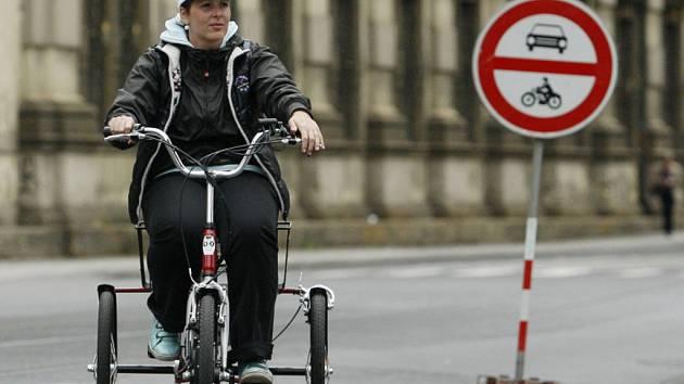 Evropský den bez aut v Praze.