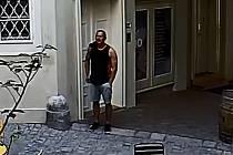 Zloděj v apartmánech.