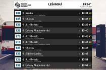 Pražský dopravní podnik (DPP) zveřejnil data o odjezdu autobusů ze zastávek v reálném čase. Data se objeví na webu a poté ve vyhledávačích spojení. V plánu jsou i tramvaje.