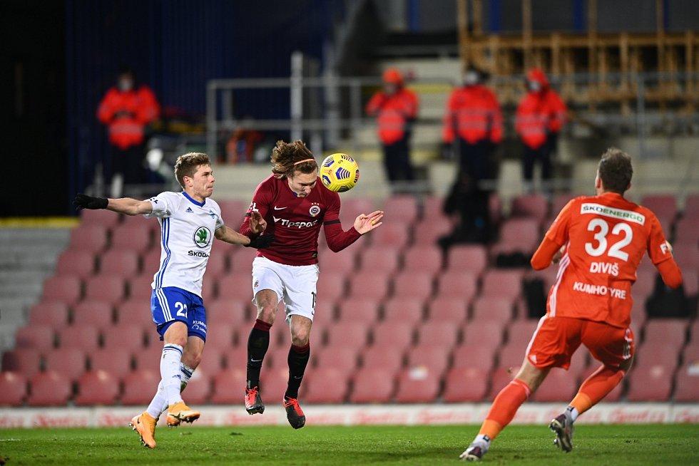 16. kolo Fortuna ligy 24. 1. 2021. Sparta Praha - Mladá Boleslav 1:0.