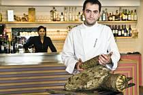 Špičkový italský kuchař Alessandro Bellingeri.