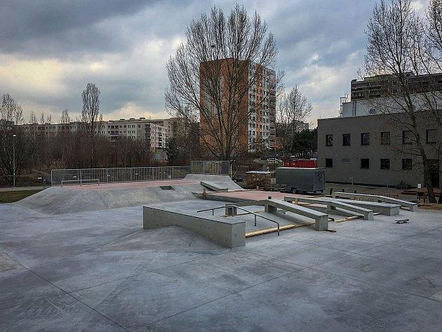 Skatepark Černý Most