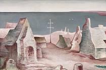 Znovuobjevený obraz Jana Zrzavého Bretaňská krajina