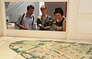 Vernisáž výstavy Pražská panelová sídliště v Sále architektů na Staroměstské radnici.