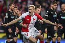 Obránce fotbalové Slavie Michal Frydrych.